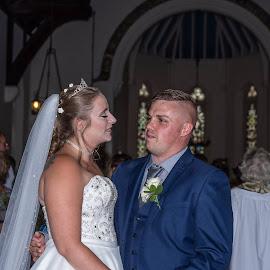 Hayleys Wedding. by Roy Hornyak - Wedding Bride & Groom (  )