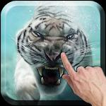 Diving Tiger Live Wallpaper