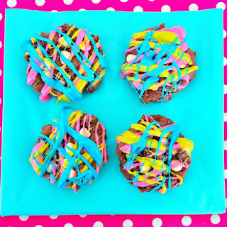 Color Crazy Chocolate Cake Mix Cookies