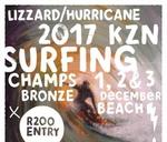 LIZZARD HURRICANE KZN SURFING CHAMPS : Bronze Beach, Umhlanga Rocks