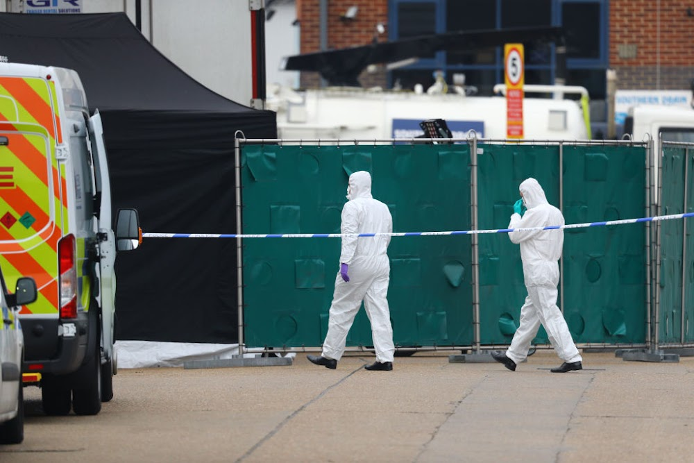 All 39 people found dead in truck in UK believed to be Chinese nationals