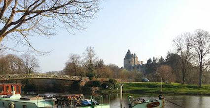 Photo: Blain : le canal de Nantes à Brest et son chateau