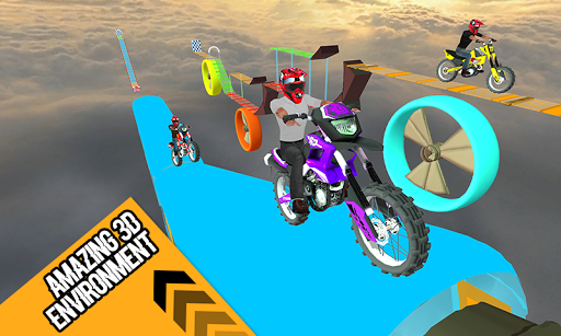 Racing Bike 3D Trial Bike Stunts Ramp Bike Jumping 1.1 screenshots 3