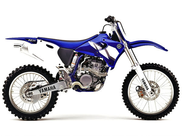 Yamaha YZ 250 F-manual-taller-despiece-mecanica