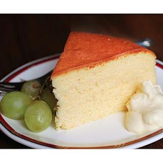 Japanese Chiffon Cake.