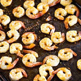 Cajun Broiled Shrimp.
