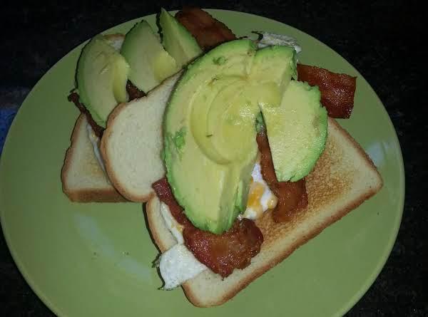 Bace Sandwich, Open Face Recipe