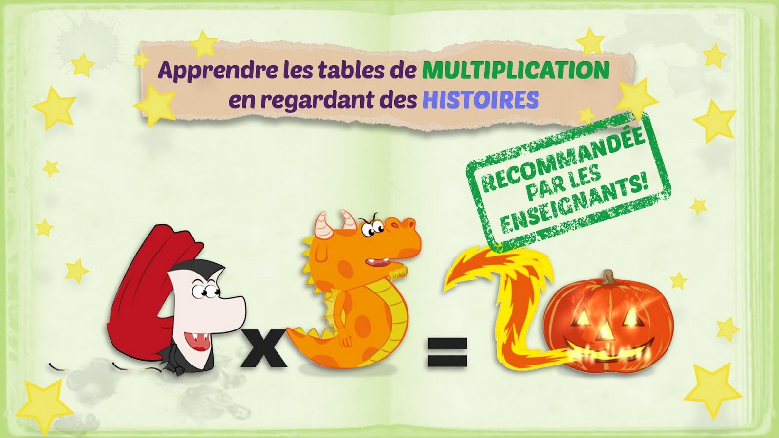 Mathemagics Multiplication – Capture d'écran