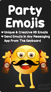 Download Party Emoji Sticker Keyboard For PC Windows and Mac apk screenshot 1