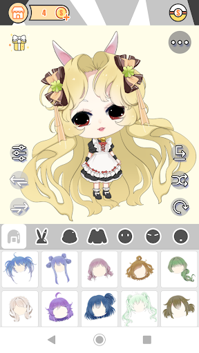 Cute Girl Avatar Factory 1.0.2 Mod screenshots 3