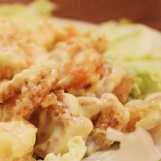 Wasabi Mayo Prawns