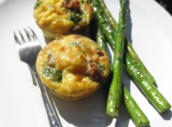 Broccoli And Italian Sausage Egg Muffins