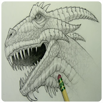 How To Draw A Dragon Icon