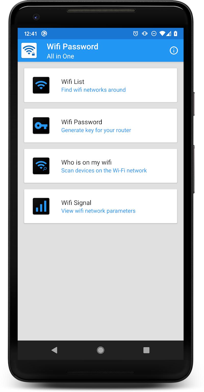 WIFI PASSWORD ALL IN ONE Screenshot 0