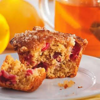 Lemon-Cranberry Muffins.