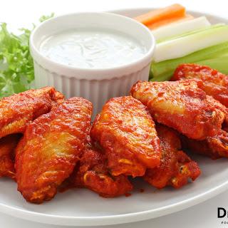 Gluten Free Buffalo Wings.