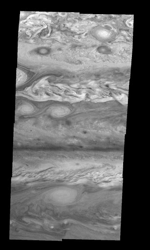 Jupiter Northern Hemisphere in the Near-Infrared Time Set 1