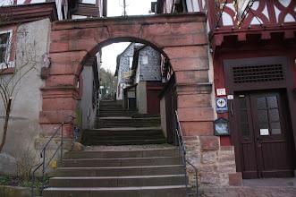 Photo: Der Aufgang zur Burg in Miltenberg