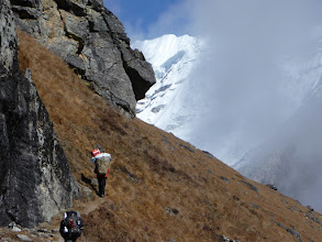 Photo: Descending into Hunku valley