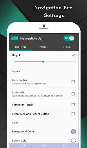 Navigation Bar (Back, Home, Recent Button) 1.8.1 screenshots 2