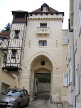 Photo: Now headed for a little hike outside of town, starting at the Porte de St Côme, the last remnant of Luzarche's medieval ramparts.