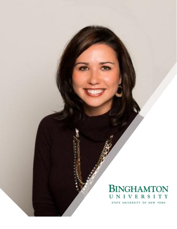 Amanda Chariot of Binghamton University