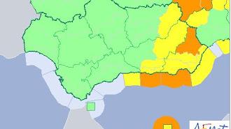 Crece el nivel de alerta naranja en la provincia de Almería.