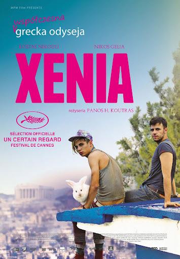 Polski plakat filmu 'Xenia'