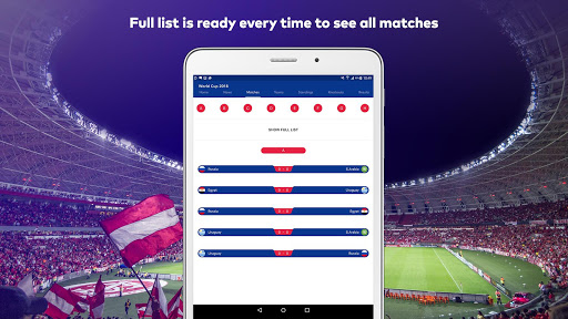 World Cup 2018 in Russia - Live Score, Match, News 6.0 screenshots 10