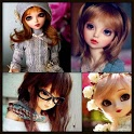 Cute Doll Wallpaper HD Beautiful Live 3D DPGallery icon