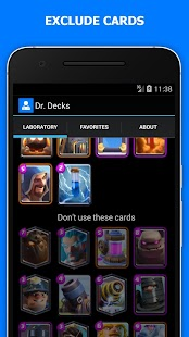 Battle Decks for Clash Royale- screenshot thumbnail