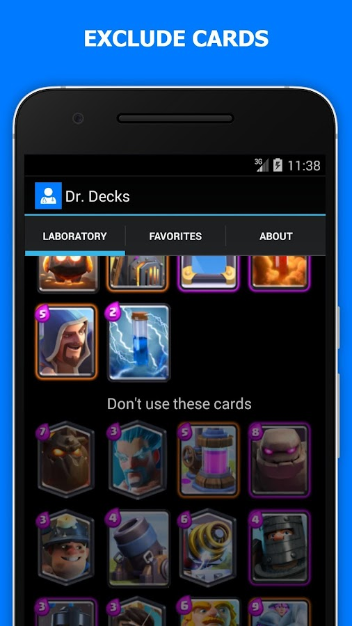 Battle Decks for Clash Royale- screenshot