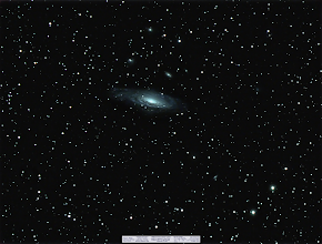 Photo: Making the most of the lousy weather I found this decent capture of NGC 7331 and the Deer Lick cluster laying around unprocessed. It's an LRGB and mostly just some testing from back in September. Full res is here (http://www.astrobin.com/full/59928/?real=&mod=none)