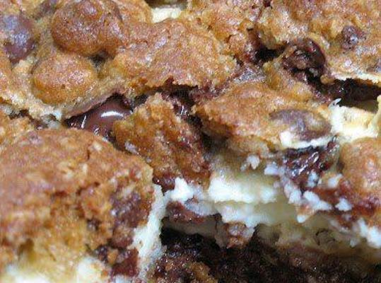 Cream Cheese Cookie Bars Recipe