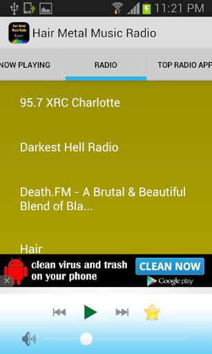 Hair Metal Music Radio
