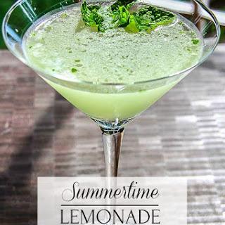 Lemonade Martini.