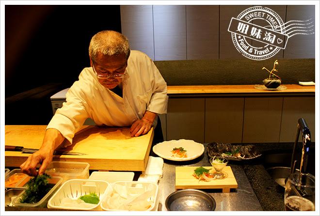 次郎本格日本料理師傅