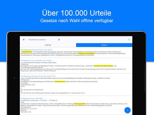 JLaw Gesetze & Urteile screenshot 7