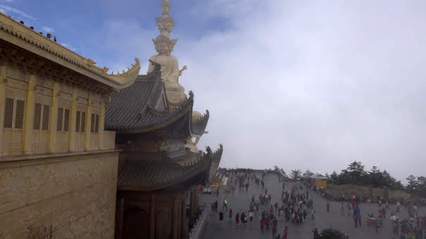 Montanha Sagrada Emei Shan