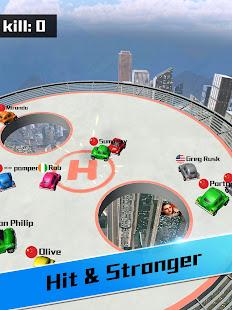 Car bumper.io – Roof Battle 6