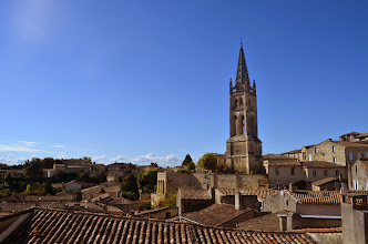 Photo: Saint-Émilion rooftops