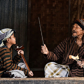Like Grandfather Like Grandson by Arindra Arindra - People Family