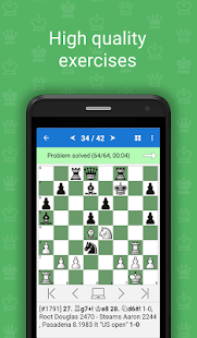 Mate in 2 (Free Chess Puzzles)- screenshot thumbnail