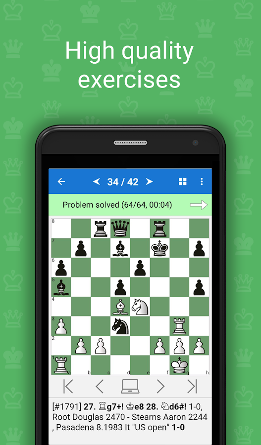 Mate in 2 (Free Chess Puzzles) APK Cracked Free Download | Cracked