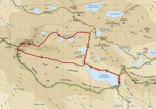 Photo: Mapa itinerario