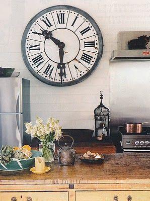 hanging Clock Wall Decor kitchen
