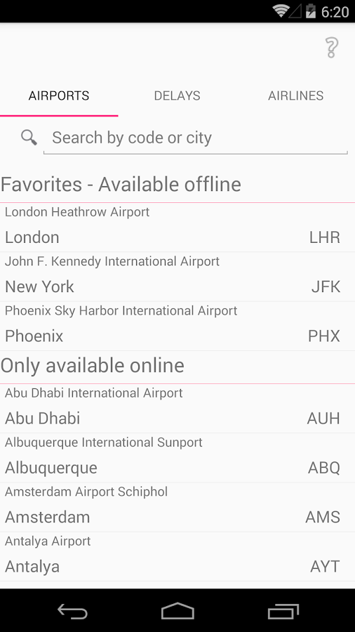 Airport Guides- screenshot