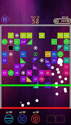 Code Triche Bricks Breaker Ball 2020 apk mod screenshots 4