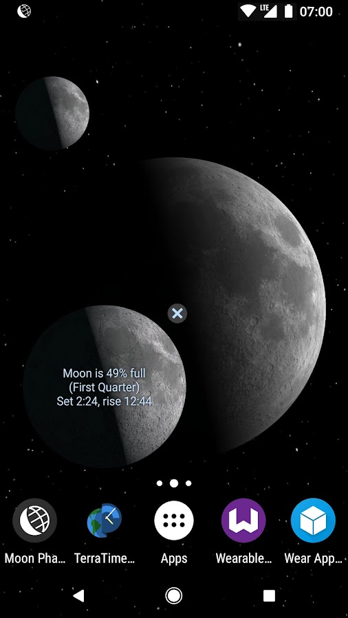 Moon Phase Pro - with Lunar Eclipses- screenshot