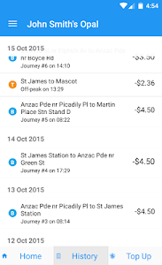 Opal View Lite - Opal Card App screenshot 1